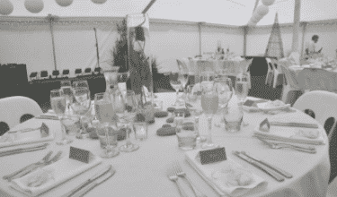 glassware and cutlery hire